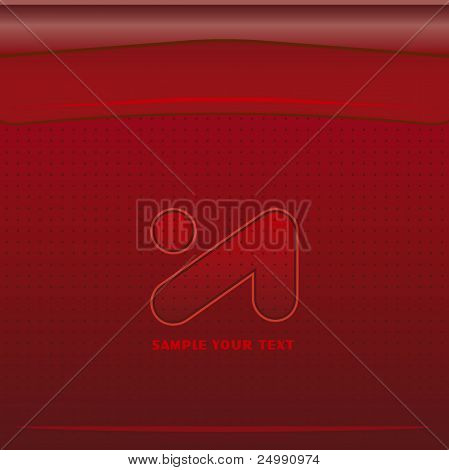 Red vector cover  background