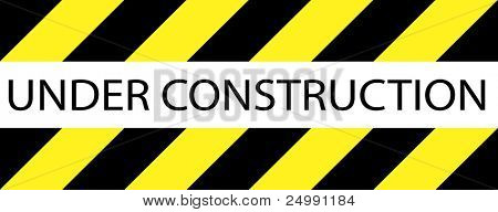 Under construction sign good for websites