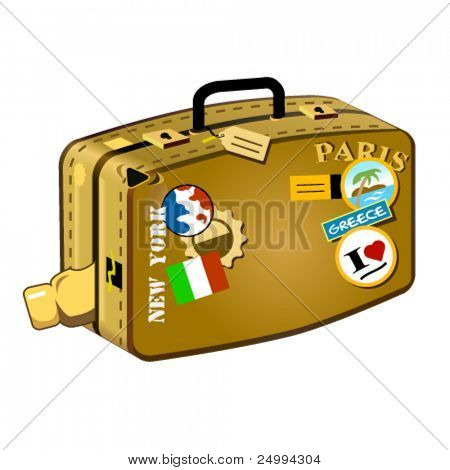 Travel suitcase for long distances! Travelers don't miss it!