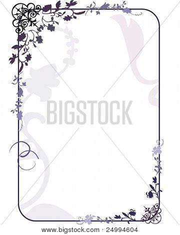 gothic style frame