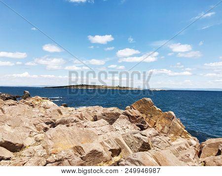 Sea View From The Town Of Sozopol, Bulgaria - Stock Photos