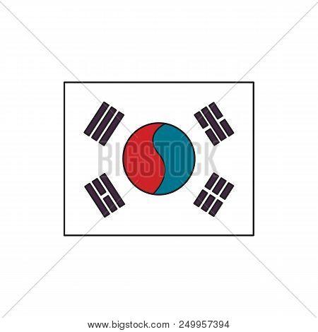 South Korea Flag Icon Vector & Photo (Free Trial)   Bigstock