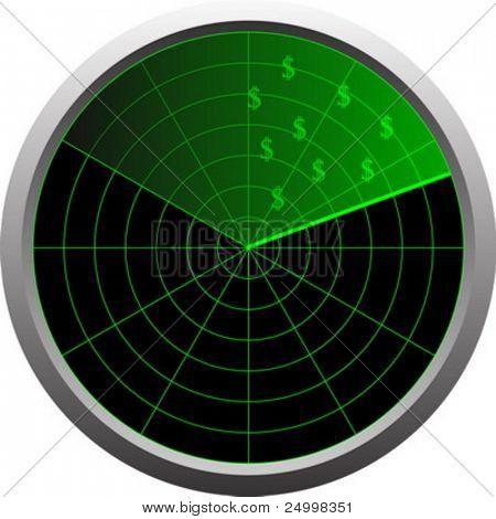 Radar for money (money in sight)