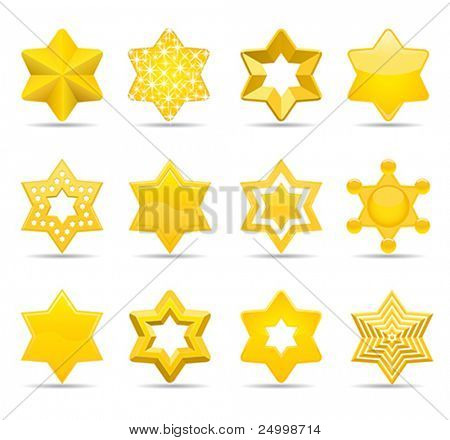 stars  (five pointed stars from same series in my gallery)