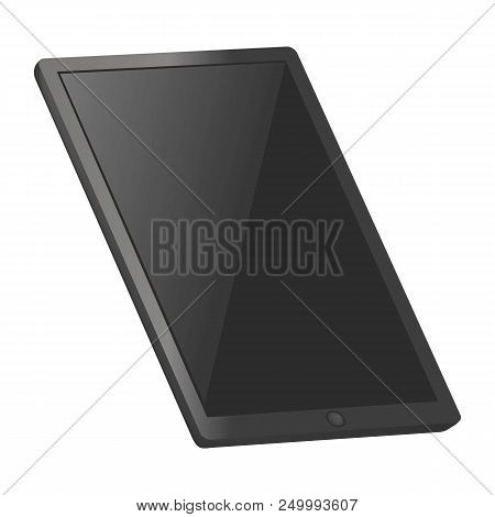 Tablet Pc Mockup. Realistic Illustration Of Tablet Pc Vector Mockup For Web Design Isolated On White