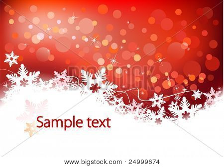 Vector background defocused light, no size limit. proportion of A4 format horizontal