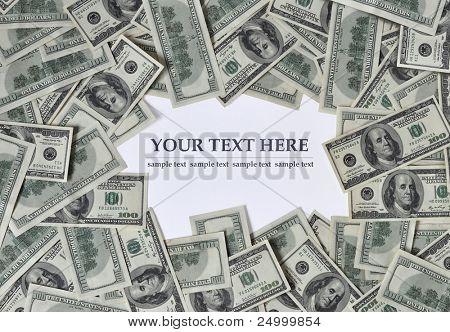Frame of money