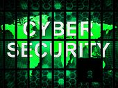 Ddos Protection Denial Of Service Security 3d Illustration Shows Malware And Intruder Risk On System Or Web poster