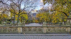 Central Park Mall Is A Mall In Central Park, In Manhattan, New York City.