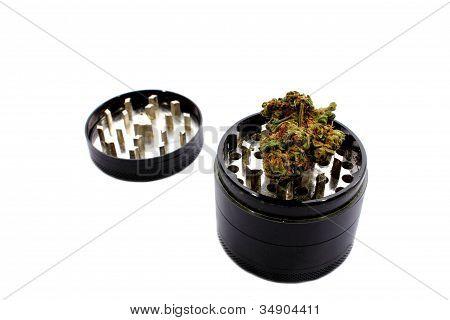 Grinder with Marijuana