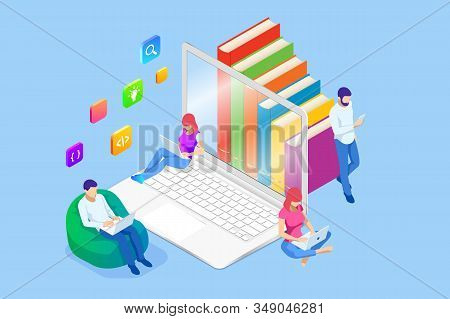 Isometric Concept Vector Photo Free Trial Bigstock