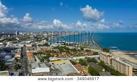 Fortaleza City, Ceara State, Brazil South America. 01/22/2020 A City With Lots Of Sun And Beaches.