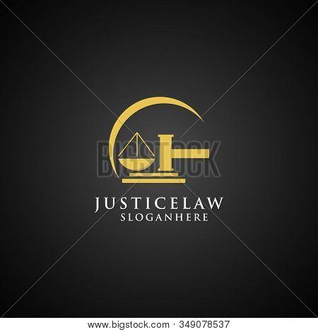 Justice Law Logo Design Template. Attorney Logo Design Template Vector Eps 10
