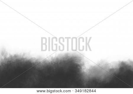 Smog Clouds. Realistic Overlay Of Smog Clouds, Fog Clouds For Composition. Mask