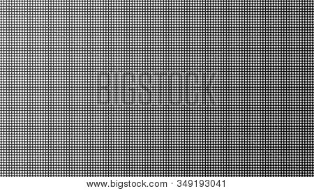 Led Tv Screen Monitor With Diode Light Texture Background