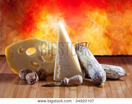 Italian Cheese And Salumi