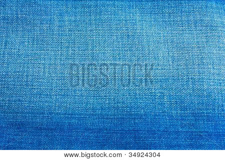 Blue Jean Cloth Texture Background