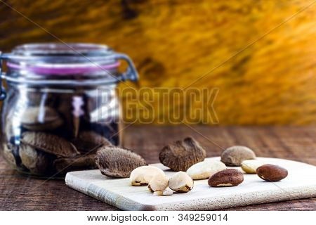 Brazil Nuts, Amazon Nuts, Brazil Nuts, Bolivian Nuts, Toquei Or Tururi, Very Abundant In Northern Br