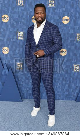 LOS ANGELES - JAN 08:  Curtis '50 Cent' Jackson arrives for the ABC Winter TCA Party 2020 on January 08, 2020 in Pasadena, CA