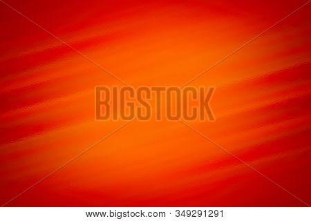 Orange Abstract Background With Glass Texture, Design Pattern Template With Copyspace