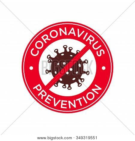 Coronavirus Prevention Icon Illustration. Mers-cov (middle East Respiratory Coronavirus Syndrome), (