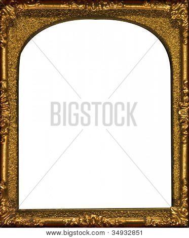Arched Gold Frame