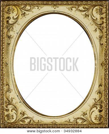 Oval Ivory Frame