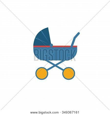 Stroller Icon. Simple Element From Baby Things Icons Collection. Creative Stroller Icon Ui, Ux, Apps