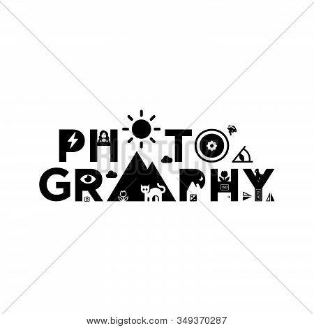 Photography Logo Vector Template. Photography Icon Design