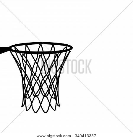 Basketball Basket, Basketball Hoop, Basketball Net, Basketball Hoop Isolated