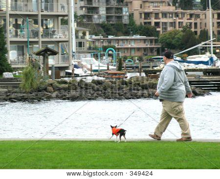 Man And Pet