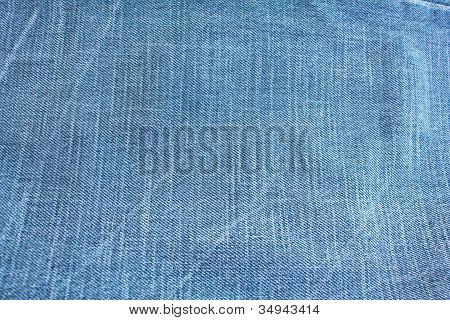 Jeansblau Stoff Textur Hintergrund