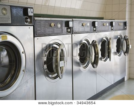 Laundromat Front Loading Washers