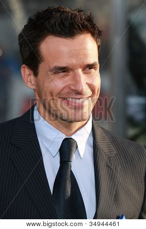 HOLLYWOOD - MARCH 31: Antonio Sabato Jr. attends the Clash of the Titans premiere on March 31 2010 at Grauman's Chinese Theater in Hollywood, California.