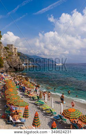 Monterosso in Cinque Terre - Italy - architecture background