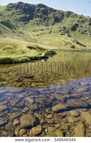 Small Water Crag & Small Water Above Mardale Head, Haweswater, Cumbria