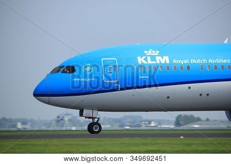 Amsterdam The Netherlands - May 6th, 2017: Ph-bhe Klm Royal Dutch Airlines Boeing 787-9 Dreamliner T