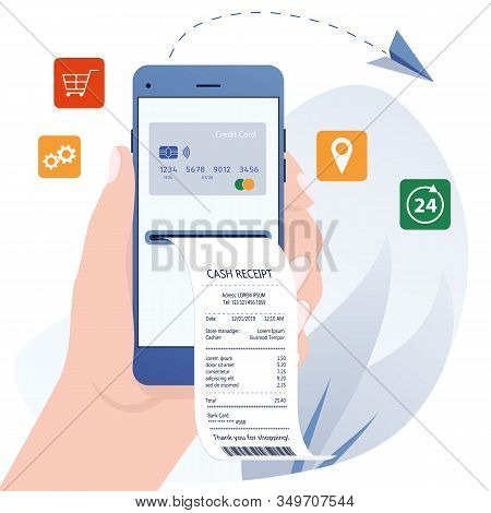 Online Bill Payment. Online Banking, Internet Electronic Bill Receipt, Protection Money Transaction,