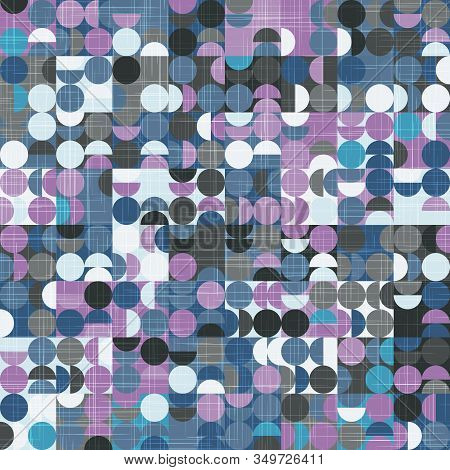 Intricate Ornate Tiling Geo Trend Seamless Pattern