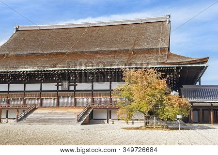 Kyoto Imperial Palace And Park, Japan