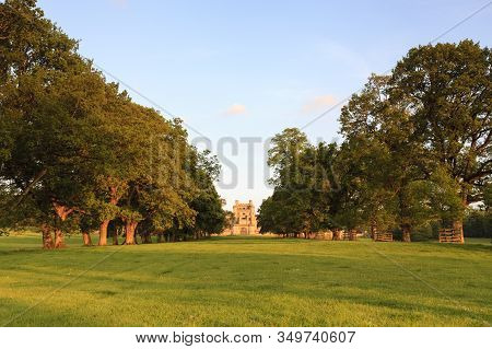 Lowther, England - June 6:  Lowther Castle Is A 19th Century Country House In Cumbria, England.  The