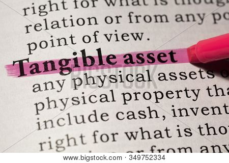 Fake Dictionary, Dictionary Definition Of Tangible Asset.