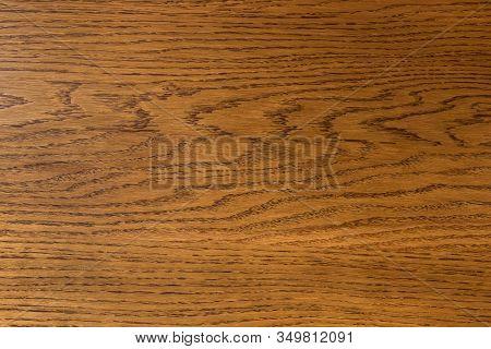 Polished Oak Wood Board. Background Texture