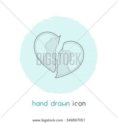 Betrayal Icon Line Element. Vector Illustration Of Betrayal Icon Line Isolated On Clean Background F