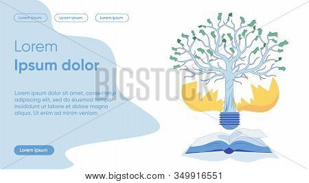 Business Development And Company Prosperity, Income Elaboration - Metaphor. Successful Profitable In