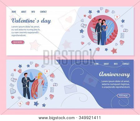 Family Or Couple Anniversary Celebrations And Romantic Events Dedicated To Valentines Day Organizati