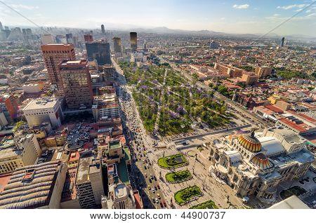 Mexico City Aerial View