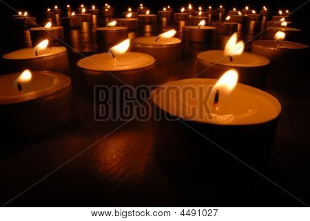 Candles Carpet