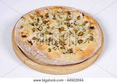 Italian Focaccia bread.