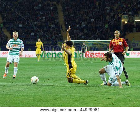 Metalist Kharkiv Vs Rapid Wien Football Match